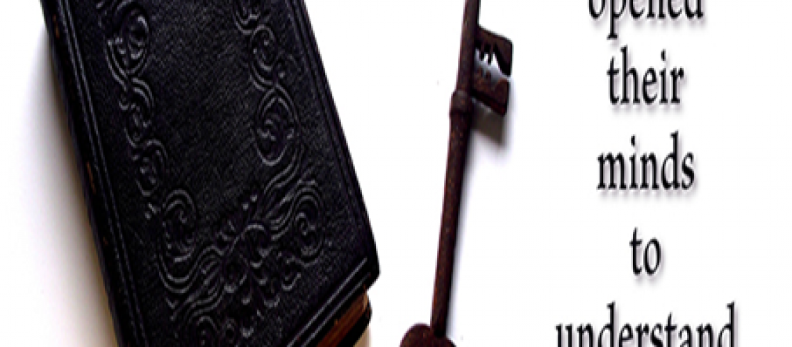 Bulletin - Bible and key